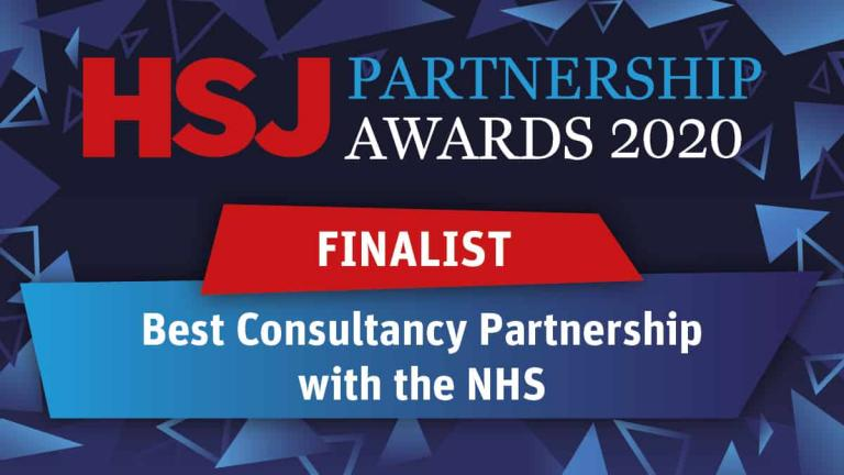 The PSC announced as HSJ Partnership Awards 2020 finalists